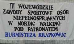 Galeria III Wojewódzkie zawody osób niepełnosprawnych w Nordic Walking