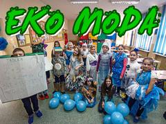 Uczniowie klasy 3c - eko moda